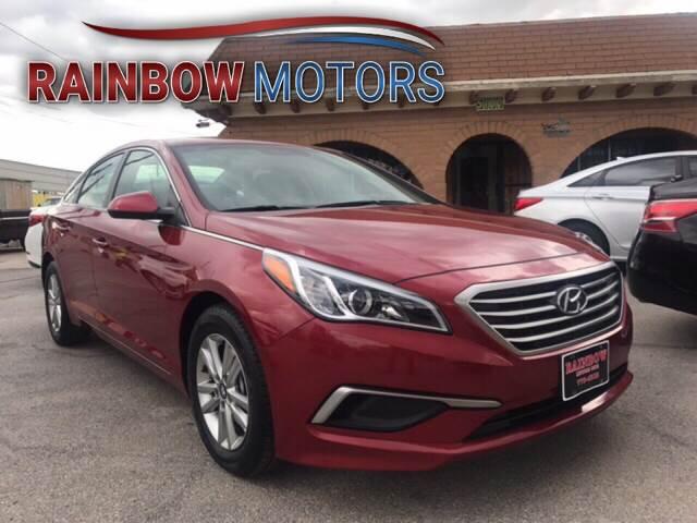 2016 Hyundai Sonata for sale at Rainbow Motors in El Paso TX