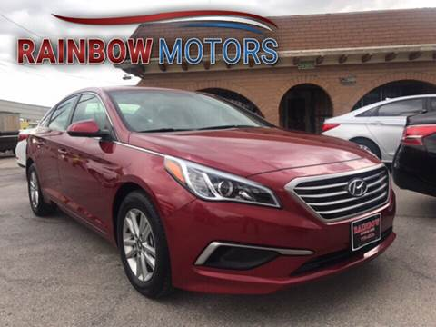 2016 Hyundai Sonata for sale at Rainbow Motors in El Paso TX