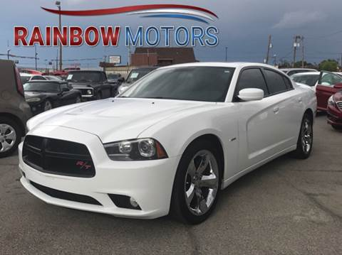 2013 Dodge Charger for sale at Rainbow Motors in El Paso TX