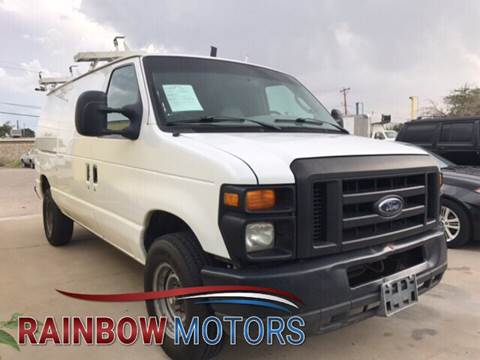2008 Ford E-Series Cargo for sale at Rainbow Motors in El Paso TX