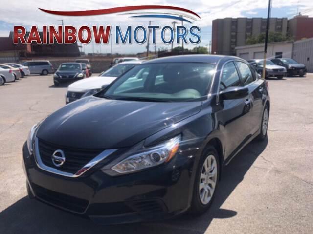 2016 Nissan Altima for sale at Rainbow Motors in El Paso TX