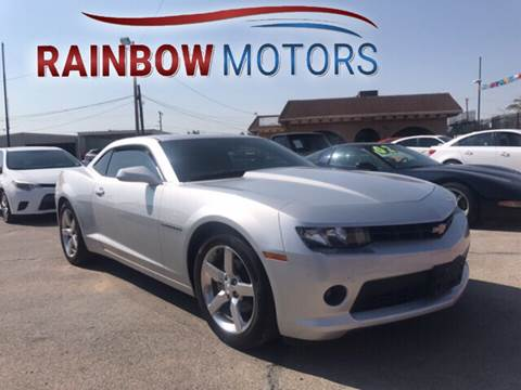 2015 Chevrolet Camaro for sale at Rainbow Motors in El Paso TX