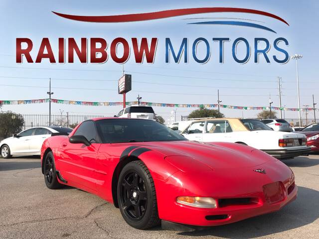 1997 Chevrolet Corvette for sale at Rainbow Motors in El Paso TX