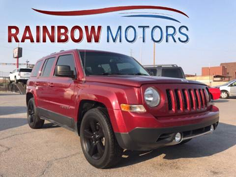 2012 Jeep Patriot for sale at Rainbow Motors in El Paso TX
