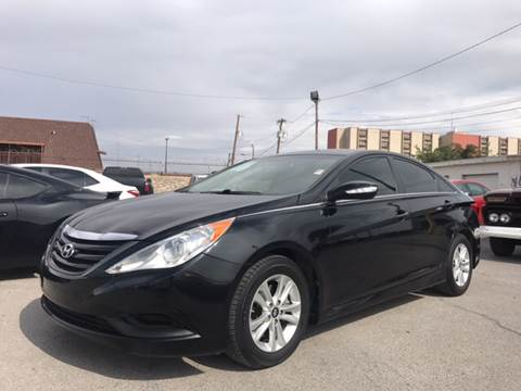 2014 Hyundai Sonata for sale at Rainbow Motors in El Paso TX