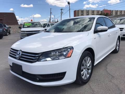 2015 Volkswagen Passat for sale in El Paso, TX