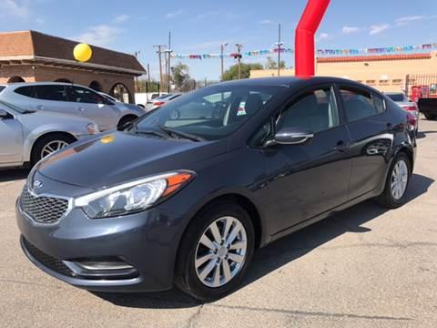 2014 Kia Forte for sale at Rainbow Motors in El Paso TX