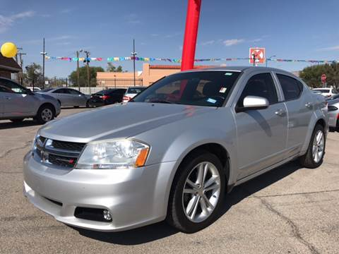 2012 Dodge Avenger for sale at Rainbow Motors in El Paso TX