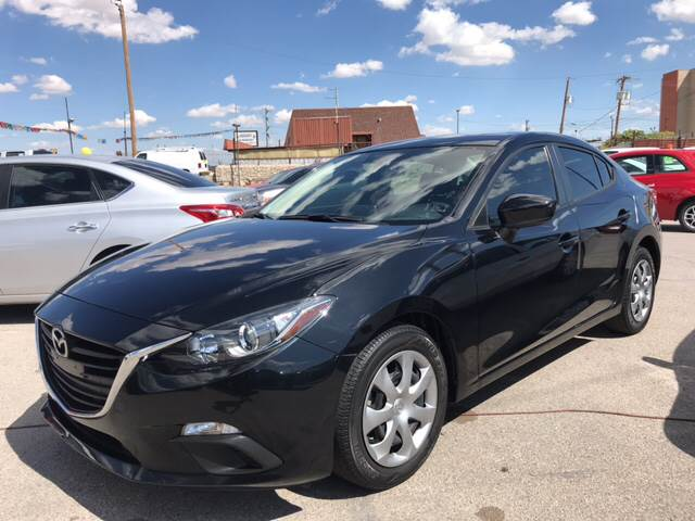 2015 Mazda MAZDA3 for sale at Rainbow Motors in El Paso TX