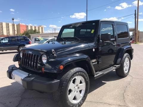 2010 Jeep Wrangler for sale at Rainbow Motors in El Paso TX