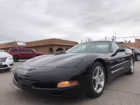 2004 Chevrolet Corvette for sale at Rainbow Motors in El Paso TX