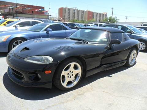 1999 Dodge Viper for sale at Rainbow Motors in El Paso TX