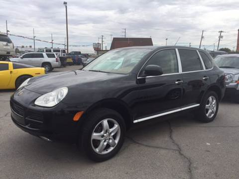 2006 Porsche Cayenne for sale at Rainbow Motors in El Paso TX