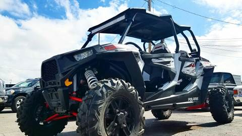 2014 Polaris Rzr for sale at Rainbow Motors in El Paso TX