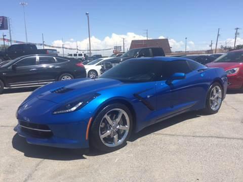 2014 Chevrolet Corvette for sale at Rainbow Motors in El Paso TX