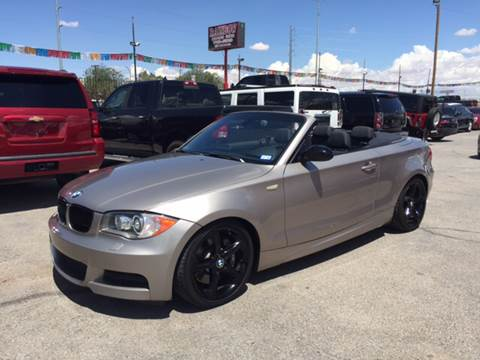 2008 BMW 1 Series for sale at Rainbow Motors in El Paso TX