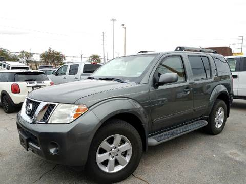 2009 Nissan Armored Pathfinder for sale at Rainbow Motors in El Paso TX