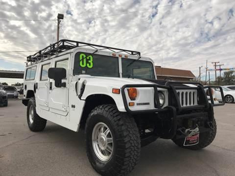 2003 HUMMER H1 for sale at Rainbow Motors in El Paso TX