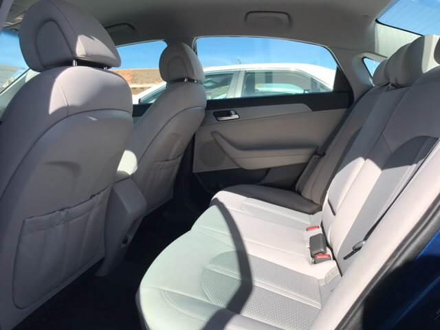 2017 Hyundai Sonata for sale at Rainbow Motors in El Paso TX
