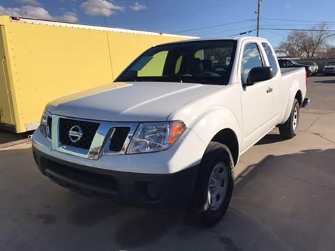 2016 Nissan Frontier for sale at Rainbow Motors in El Paso TX