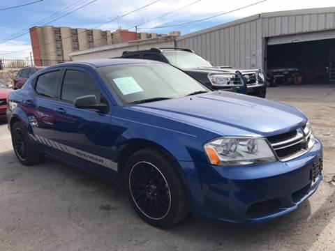 Dodge avenger for sale el paso tx for Rainbow motors el paso tx