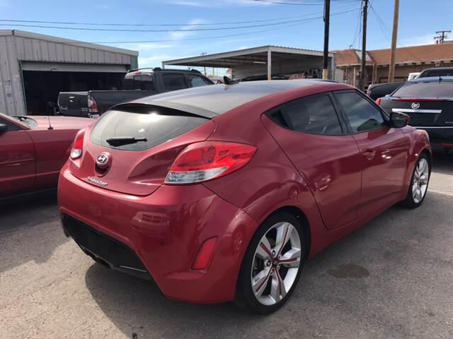 2012 Hyundai Veloster for sale at Rainbow Motors in El Paso TX
