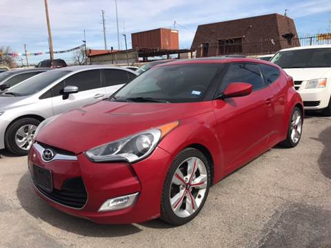 2012 Hyundai Veloster for sale at Rainbow Motors in El Paso TX