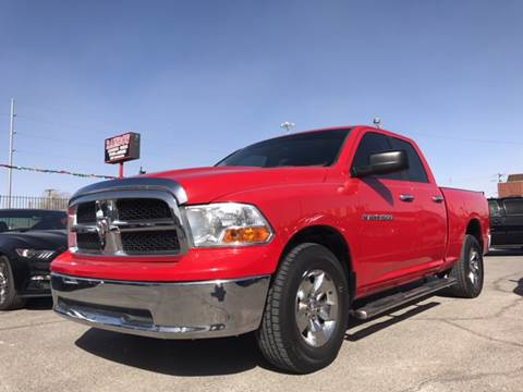 2012 RAM Ram Pickup 1500 for sale at Rainbow Motors in El Paso TX