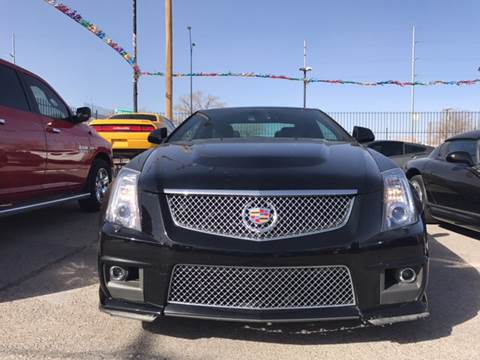 2014 Cadillac CTS-V for sale at Rainbow Motors in El Paso TX