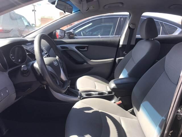 2016 Hyundai Elantra for sale at Rainbow Motors in El Paso TX