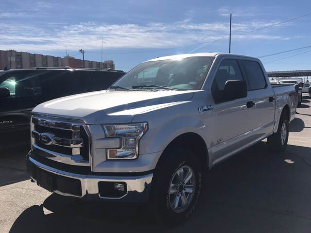 2016 Ford F-150 for sale at Rainbow Motors in El Paso TX