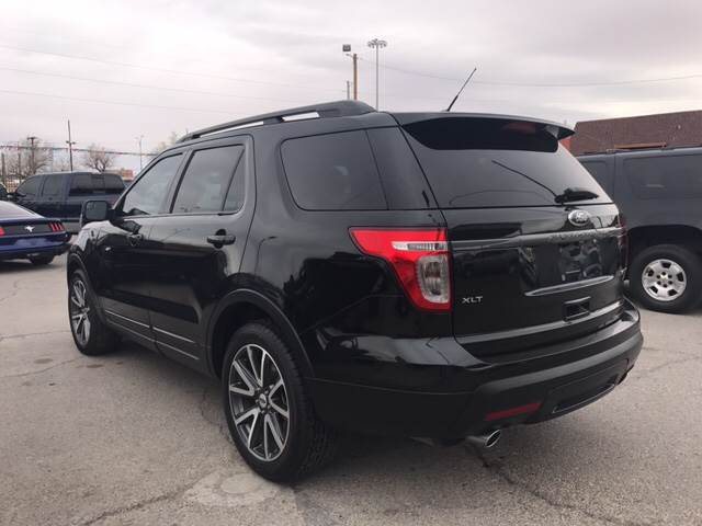2015 Ford Explorer for sale at Rainbow Motors in El Paso TX