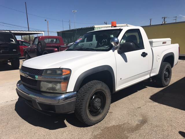2008 Chevrolet Colorado for sale at Rainbow Motors in El Paso TX
