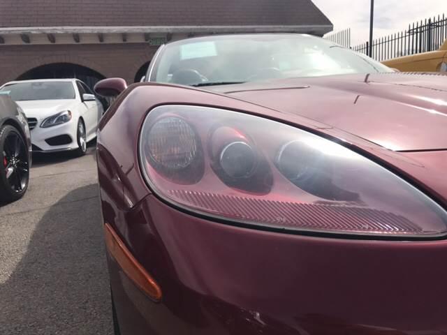 2005 Chevrolet Corvette for sale at Rainbow Motors in El Paso TX
