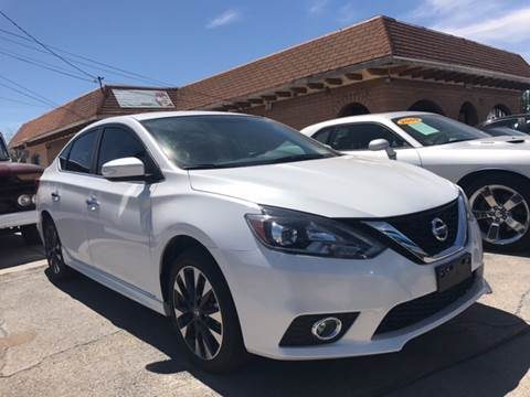 2016 Nissan Sentra for sale at Rainbow Motors in El Paso TX