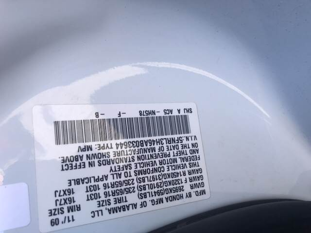 2010 Honda Odyssey for sale at Rainbow Motors in El Paso TX
