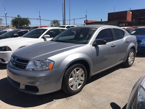 2014 Dodge Avenger for sale at Rainbow Motors in El Paso TX