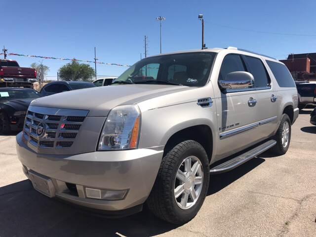 2007 Cadillac Escalade ESV for sale at Rainbow Motors in El Paso TX