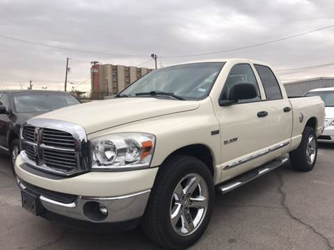 2008 Dodge Ram Pickup 1500 for sale at Rainbow Motors in El Paso TX
