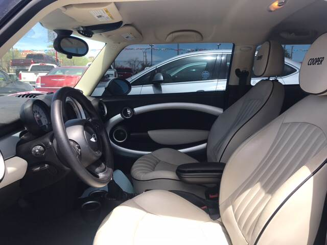 2012 MINI Cooper Hardtop for sale at Rainbow Motors in El Paso TX