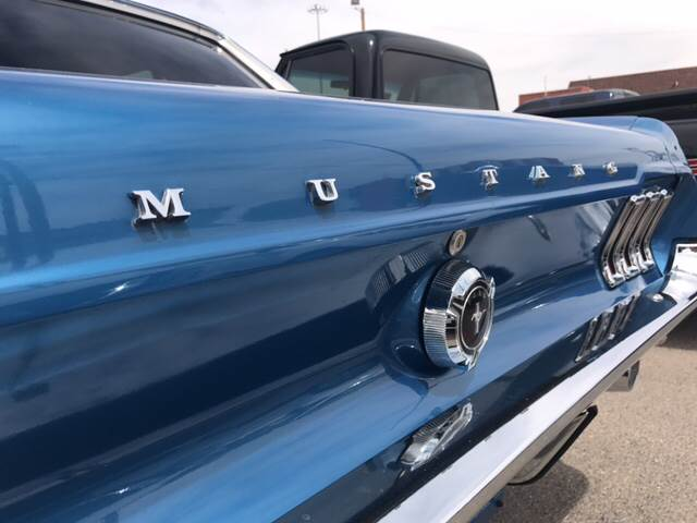 1967 Ford Mustang for sale at Rainbow Motors in El Paso TX