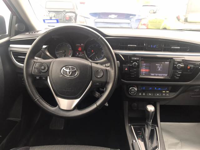 2016 Toyota Corolla for sale at Rainbow Motors in El Paso TX