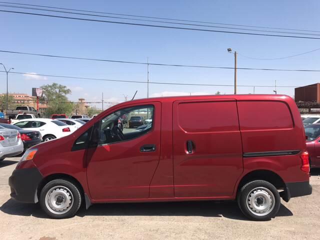 2015 Nissan NV200 for sale at Rainbow Motors in El Paso TX