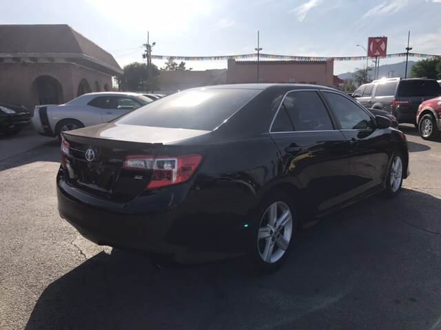 2014 Toyota Camry for sale at Rainbow Motors in El Paso TX