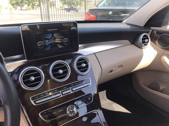 2016 Mercedes-Benz C-Class for sale at Rainbow Motors in El Paso TX