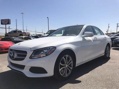 2016 Mercedes-Benz C-Class for sale at Rainbow Motors in El Paso TX