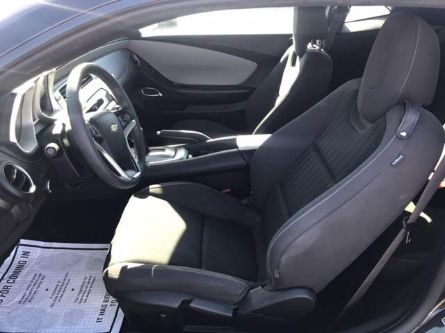 2015 Chevrolet Camaro for sale at Rainbow Motors in El Paso TX