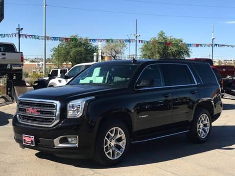 2015 GMC Yukon for sale at Rainbow Motors in El Paso TX
