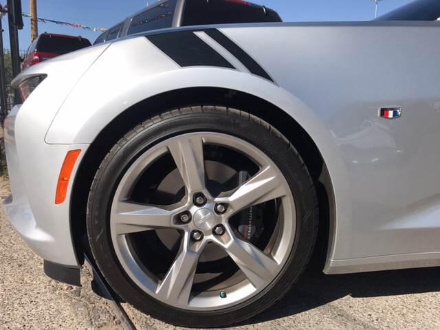 2017 Chevrolet Camaro for sale at Rainbow Motors in El Paso TX