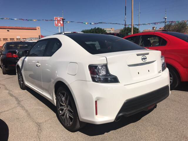 2015 Scion tC for sale at Rainbow Motors in El Paso TX